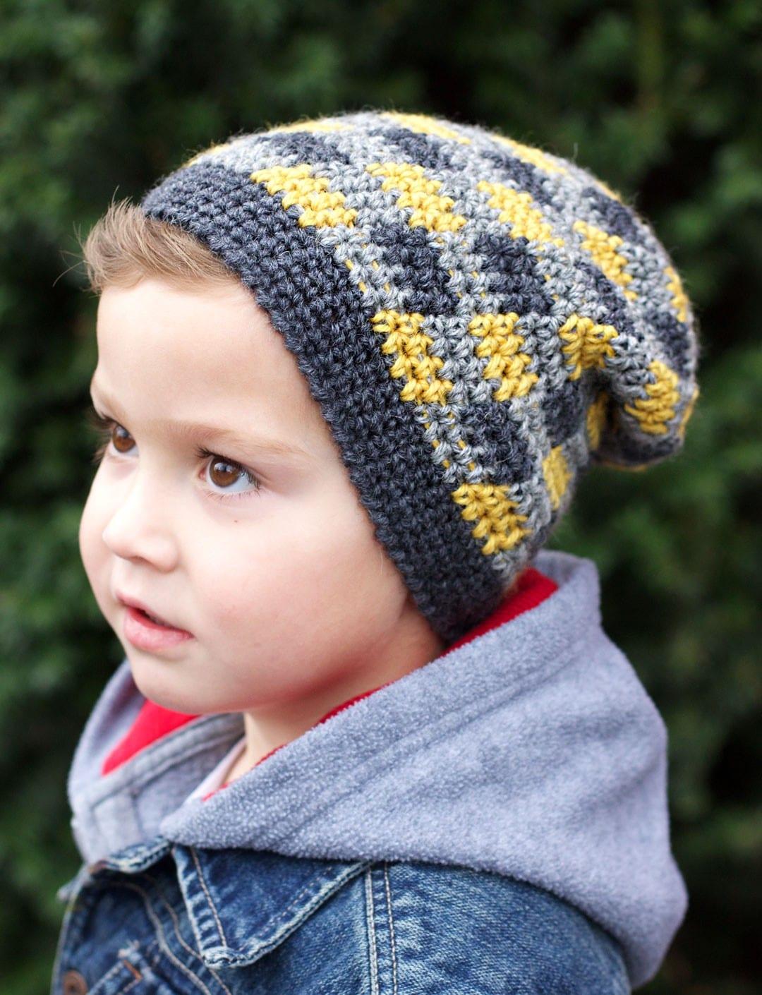 Crochet Winter Kids Hats Roundup Sewrella