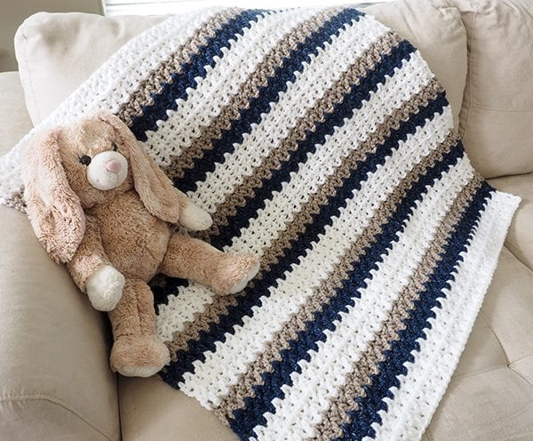 Crochet Baby Blankets For Boys Sewrella