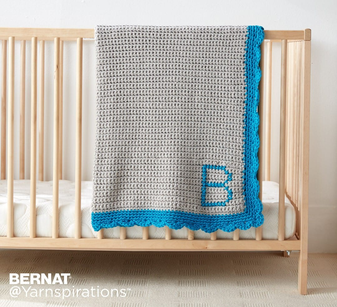 monogram blankets for babies