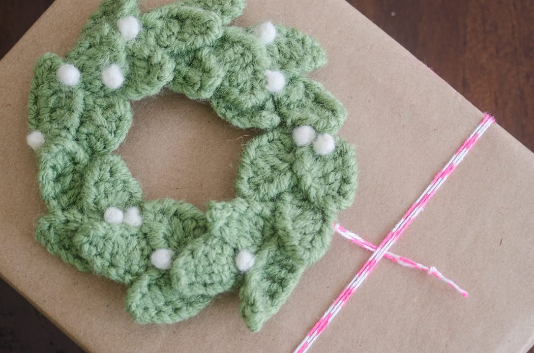 Festive Crochet Christmas Wreaths Sewrella