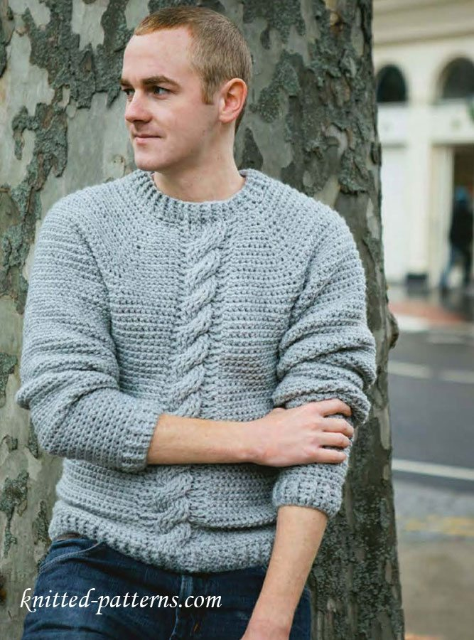 Husband Approved Free Crochet Sweater Patterns Sewrella