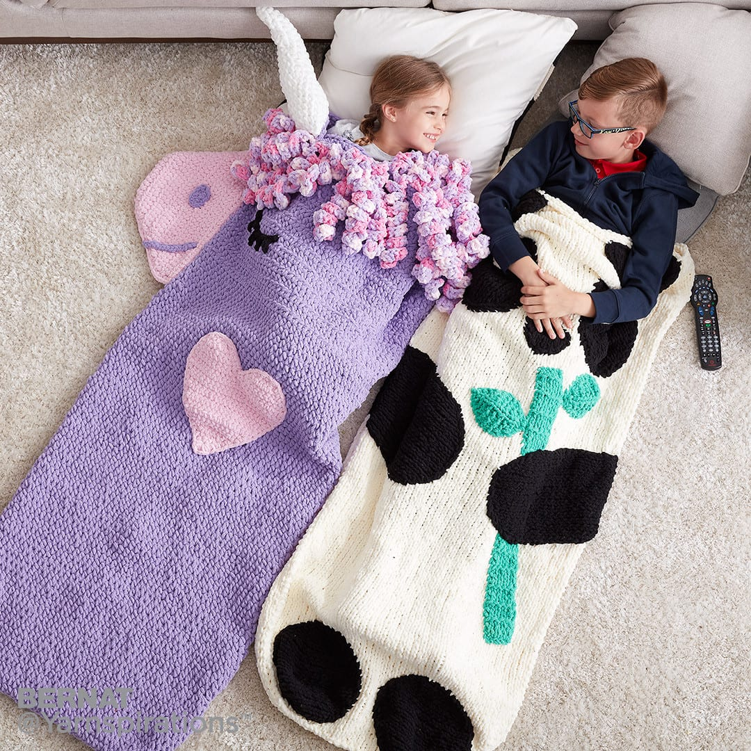 Crochet Snuggle Sacks for Kids and Adults - Sewrella