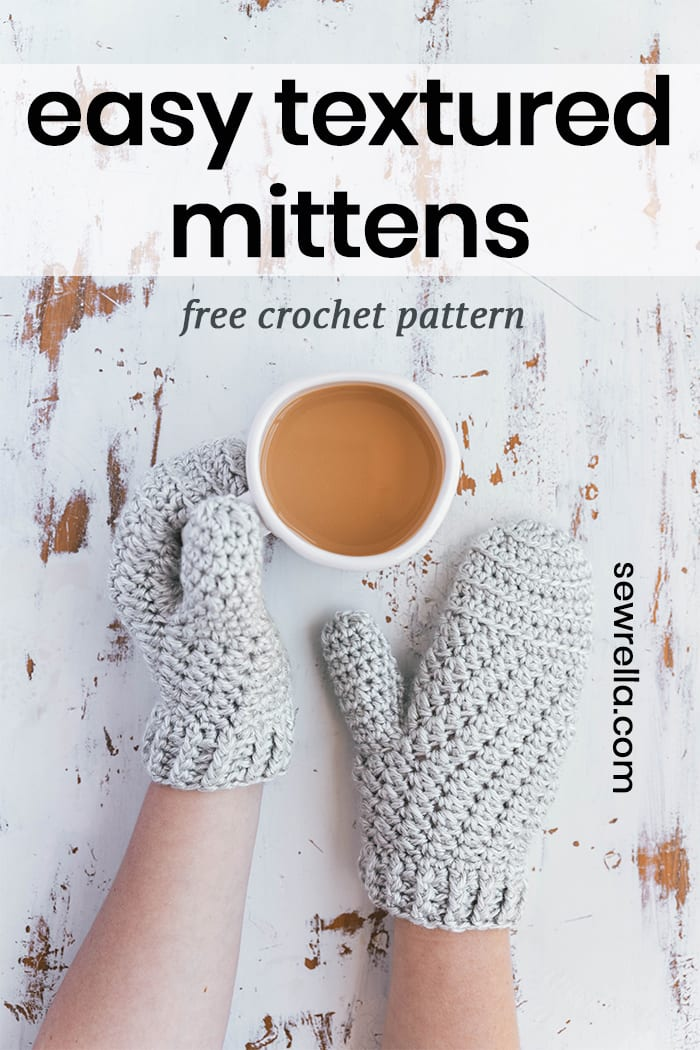 Crochet Moon Dance Mittens (with Heather!) - Sewrella