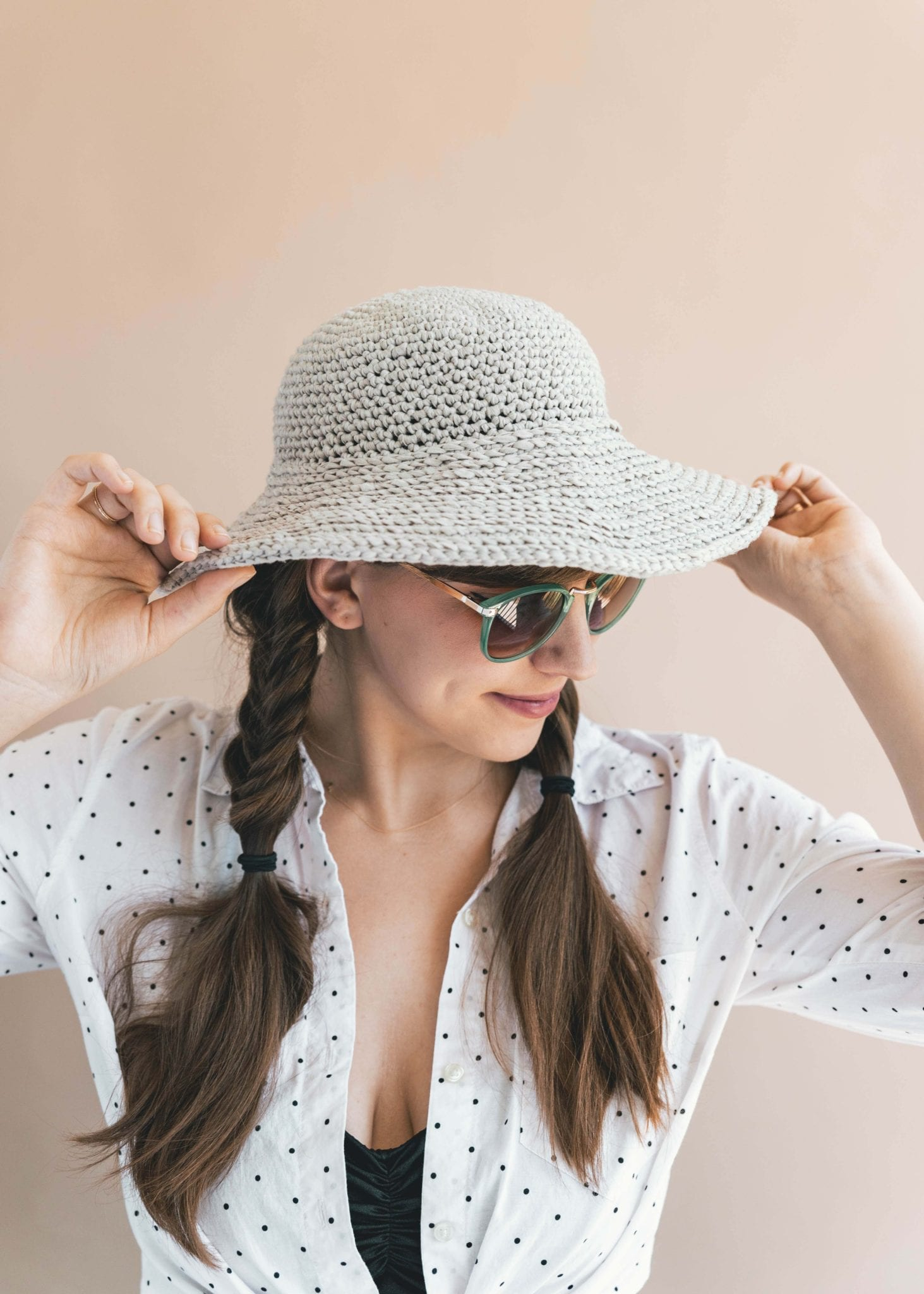 The weather is warming and I ve got summer on my mind – so I had to make a  chic accessory for sunny days  The Crochet June Sun Hat! 1eb1ac51af4