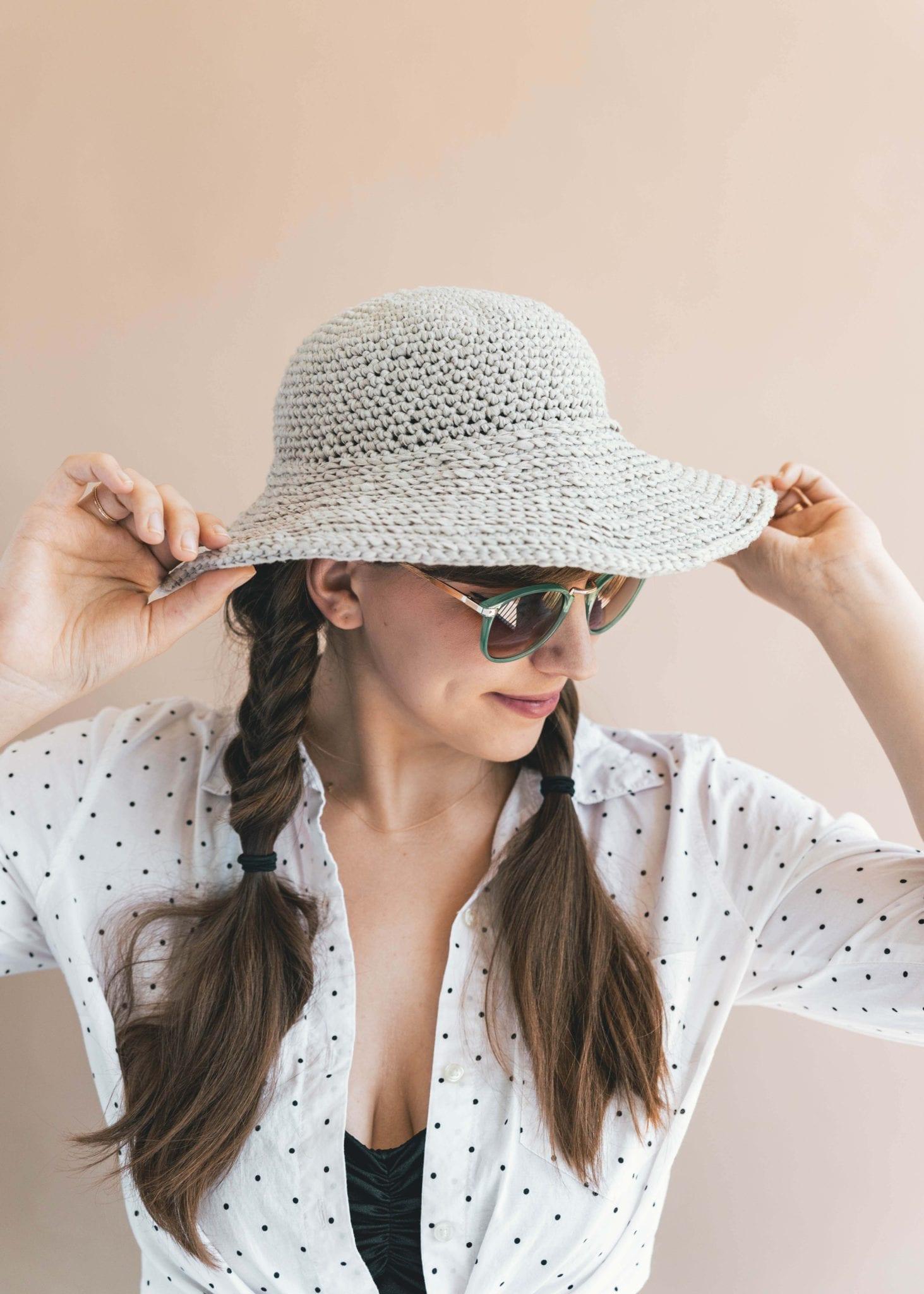 bab17a63 Crochet June Sun Hat - Sewrella