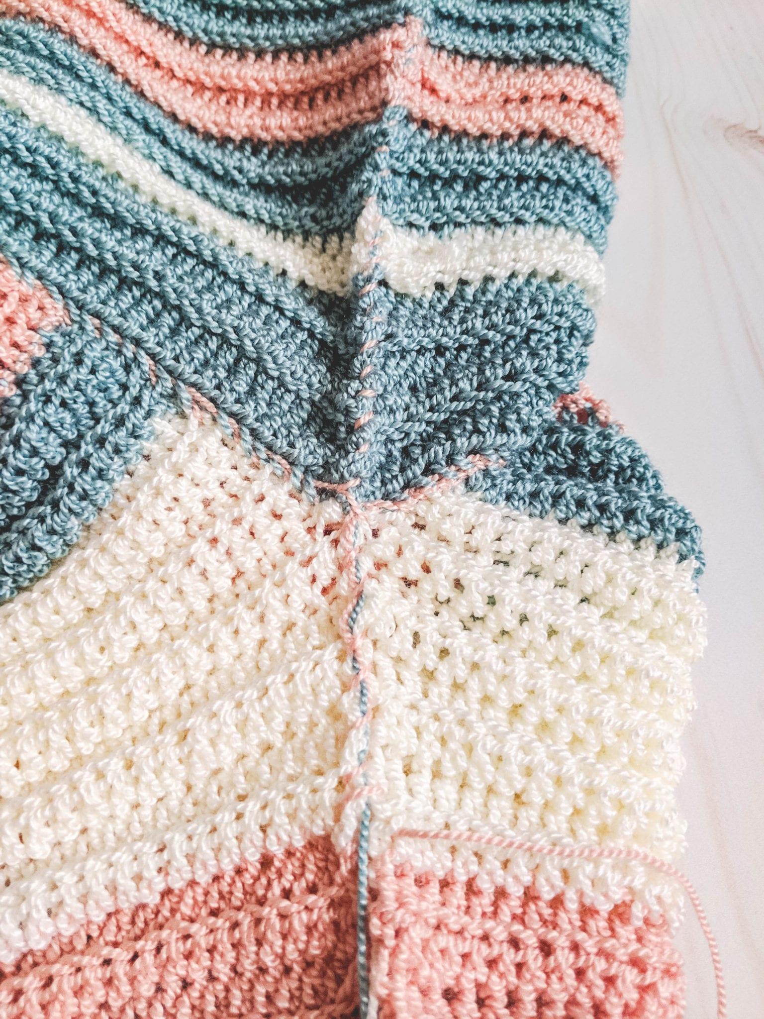 Crochet Magic Stripe Sweater - Sewrella