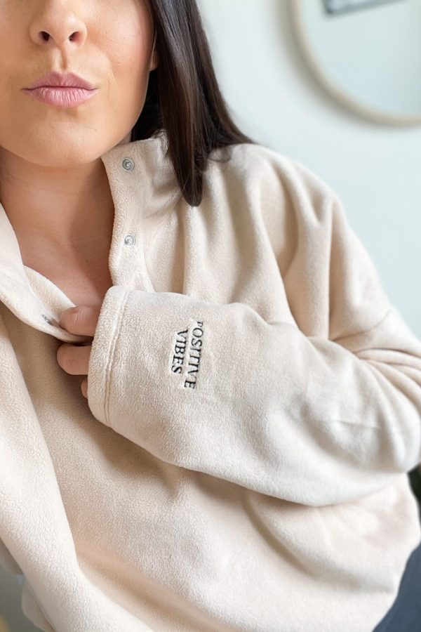 Embroidered Cropped Fleece – www.sewsian.com