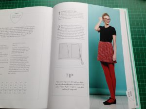 Instructions for GBSB A-Line Tweed Skirt
