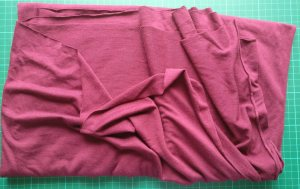 Burgundy Tee-shirting