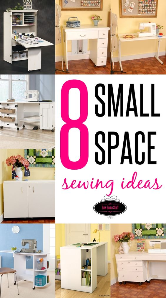 8 Wonderful Sewing Room Ideas For Small Spaces Sew Some Stuff