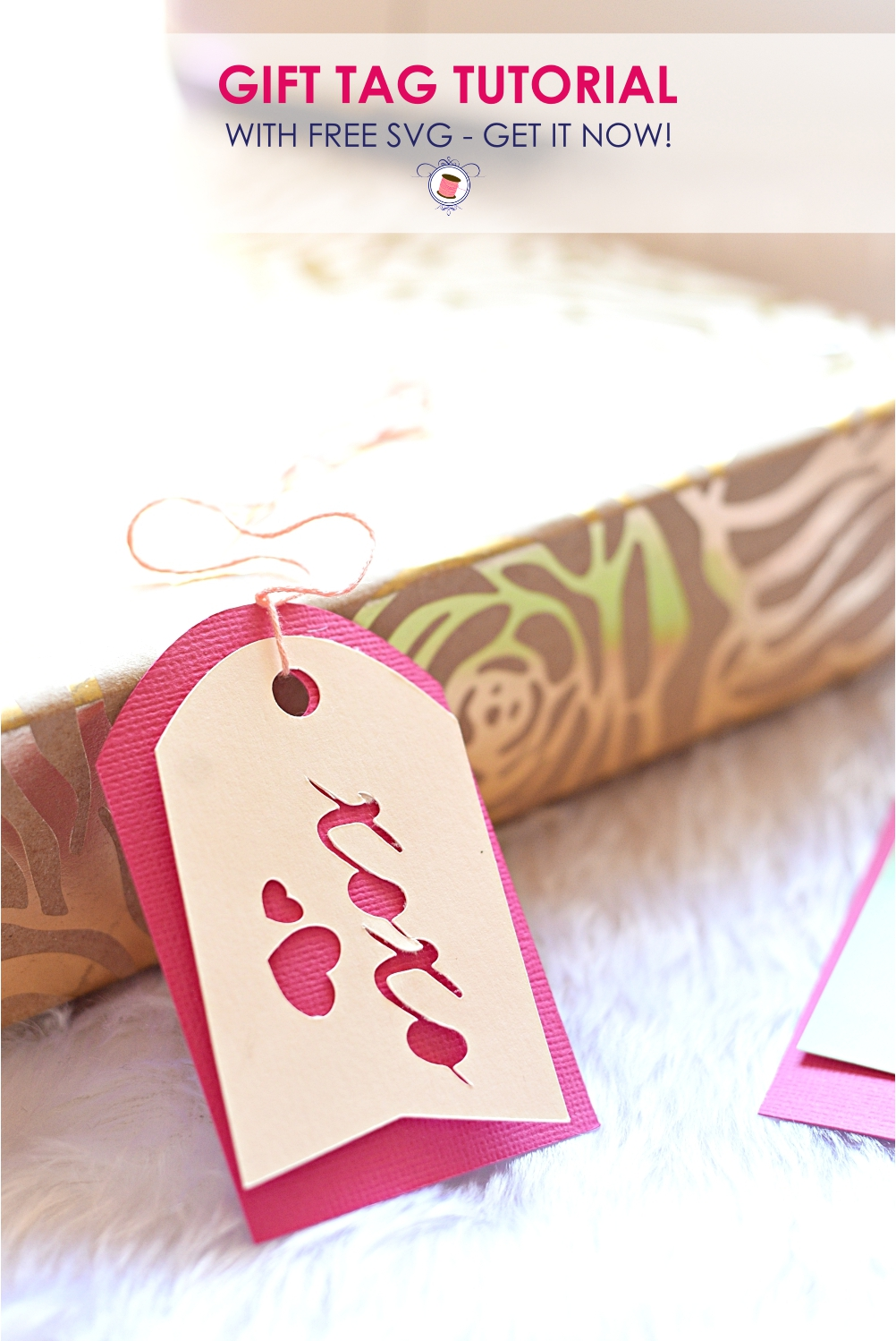 Download Super Cute Free SVG Gift Tags for Cricut - Sew Some Stuff