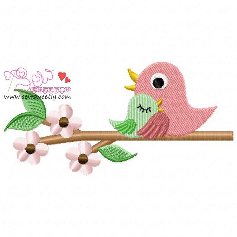 Bird Bird Momma And Baby