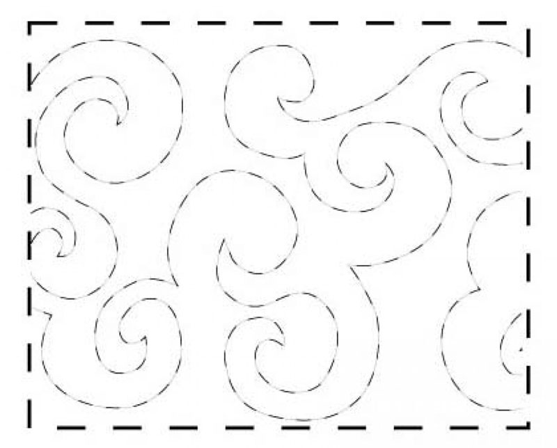 Stipples Made Easy Pattern #309 from Quilting Made Easy