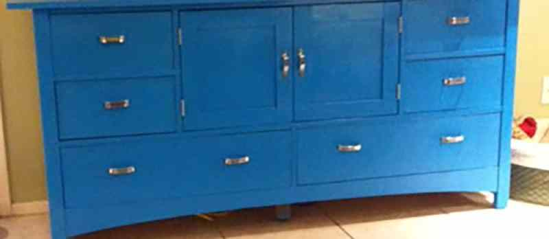 Transform Dated Furniture Using Paint