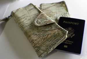 Finished-Wallet-300x204 Free DIY Passport Wallet Pattern