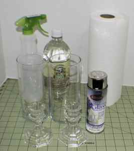 What-you-will-Need-for-Faux-Mercury-Glass-267x300 Dollar Store Faux Mercury Glass Hurricanes