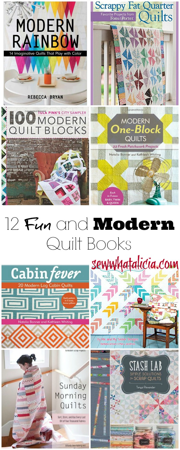Fun and Modern Quilt Books: www.sewwhatalicia.com