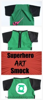 Superhero Art Smock