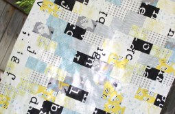 Subway Tile Inspired Quilt Top (using fat quarters!)