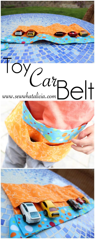Toy Car Belt | www.sewwhatalicia.com