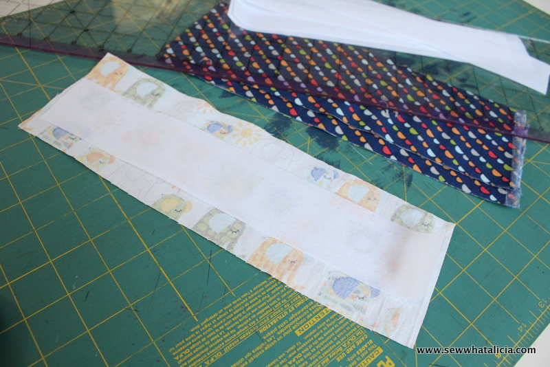 Fabric Airplane Chain - Stash Buster! | www.sewwhatalicia.com