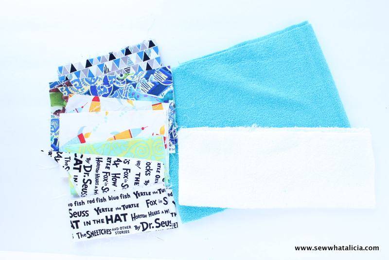 Terry Cloth Popsicle Sleeves Tutorial | www.sewwhatalicia.com