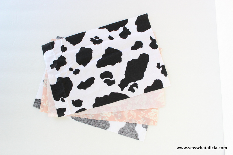 Cow Print Laptop Case | www.sewwhatalicia.com