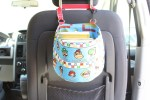 Behind Seat Car Organizer Tutorial