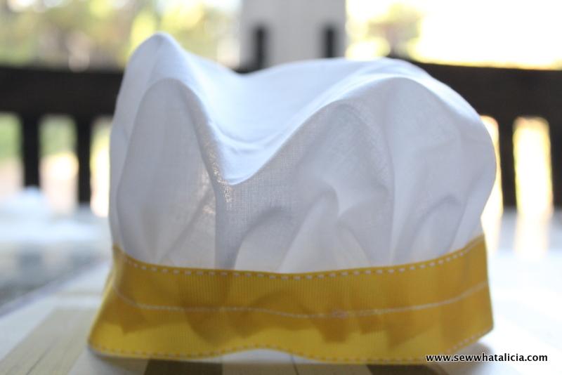 DIY Toddler Chef Costume Ideas | www.sewwhatalicia.com