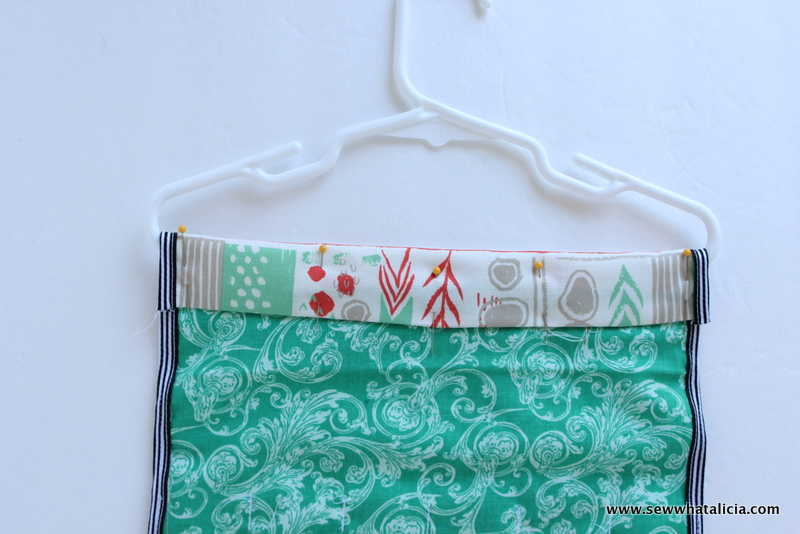 Hanging Jewelry Organizer Tutorial Sew What Alicia