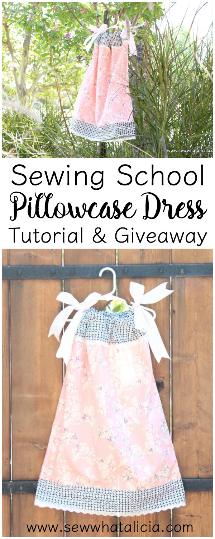 Pillowcase Dress Tutorial Sew What Alicia