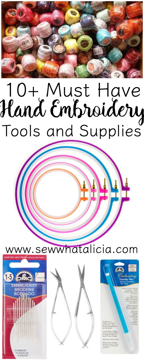Hand Embroidery Supplies Near Me