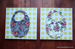 15 Minute Baby Bibs Tutorial – Sewing School