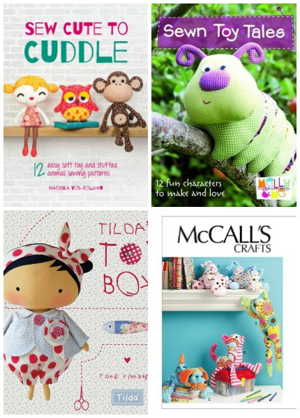 10+ Snuggly Stuffed Animal Patterns and Books - Sew What, Alicia?