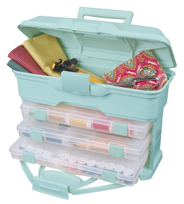 10+ Fabulous Sewing Organizers: Are you ready to get your craft/sewing room in order? Here are some fabulous sewing organizers that will help you clear the clutter! Click through for a full list. | www.sewwhatalicia.com