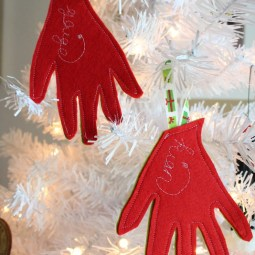 Sew Your Own Felt Keepsake Ornament