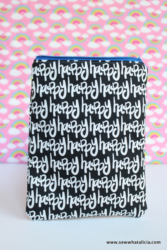 How to Sew a Lined Zipper Pouch: This tutorial will show you step by step how to sew a lined zipper pouch. Zippers aren't scary! Click through for the full tutorial.   www.sewwhatalicia.com