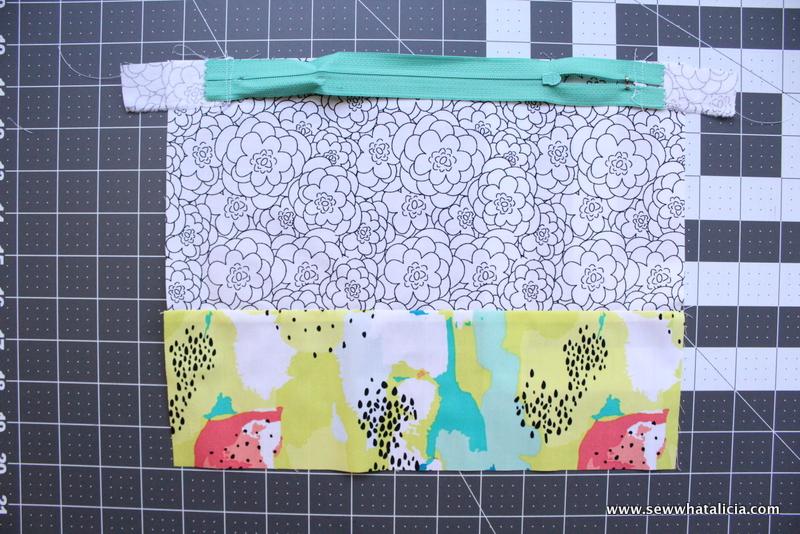 how to fix zipper fabric