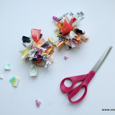 How to Use Your Fabric Scraps to Create a Pom Pom