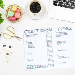 Create a Craft Room Index with a Bullet Journal