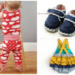 10+ Beautiful Gifts to Sew for Baby