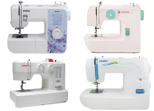 What is the Best Sewing Machine for Beginners? | If you are looking into getting your first sewing machine then look no further. This post compiles hundreds of ratings and reviews to help you decide which machine is best for you. Click through for the full list. | www.sewwhatalicia.com