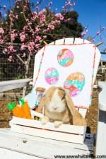 Easter Mini Quilt Tutorial