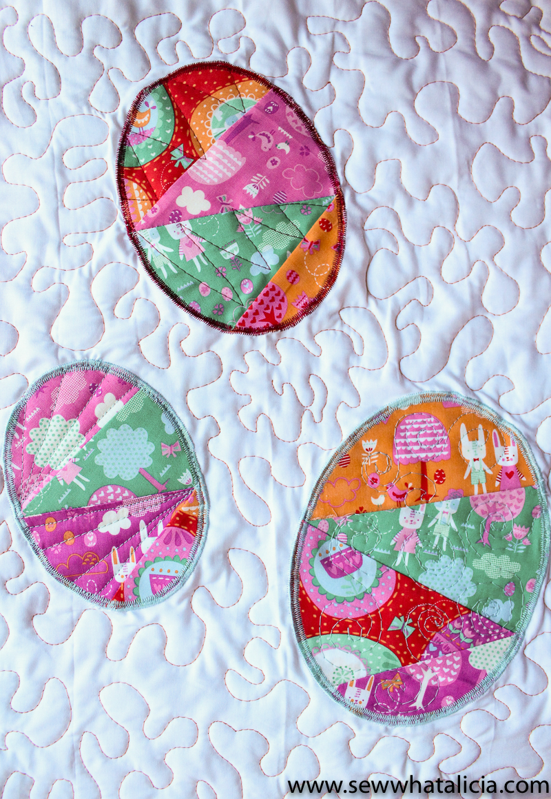 Easter Mini Quilt Tutorial Sew What Alicia