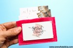 Felt Business Card Holder Tutorial