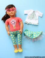 How to Sew a Doll Shirt and Pants