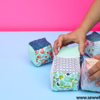 Fabric Baby Blocks Sewing Tutorial