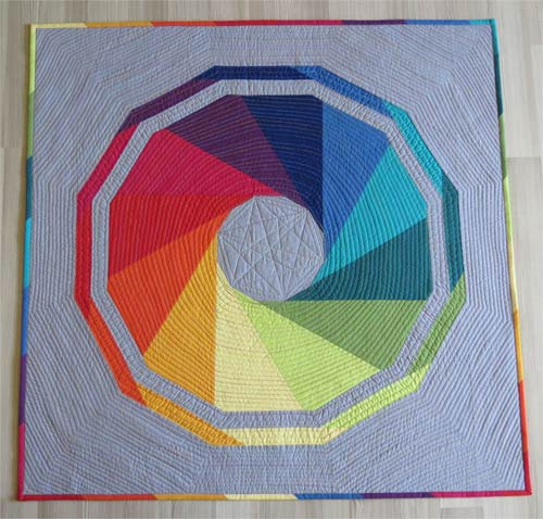10+ Fabulous Rainbow Quilt Patterns: These rainbow quilt patterns will give you all sorts of fabulous feelings! I just love a fun rainbow don't you? Click through for the full list of rainbow quilt patterns to sew. | www.sewwhatalicia.com