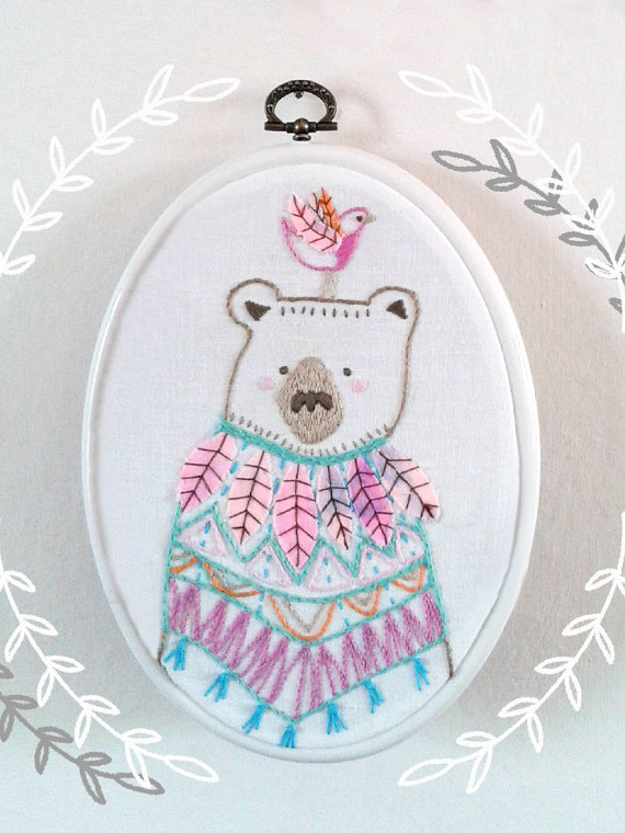 20+ Animal Embroidery Patterns to Stitch: If you love to sew and embroider and you love animals then these patterns are perfect for you. Click through for a full list of animal embroidery patterns. | www.sewwhatalicia.com
