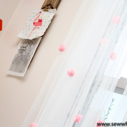 Quick and Easy Ikea Curtain Hack